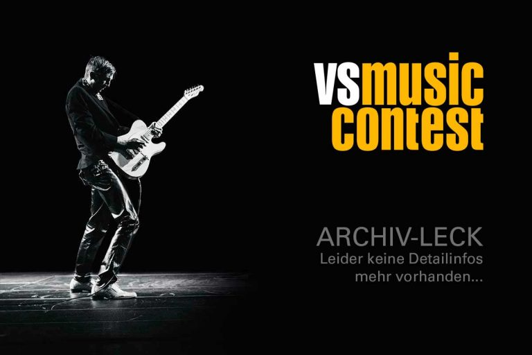 Subsection - VS MUSIC CONTEST Bandwettbewerb